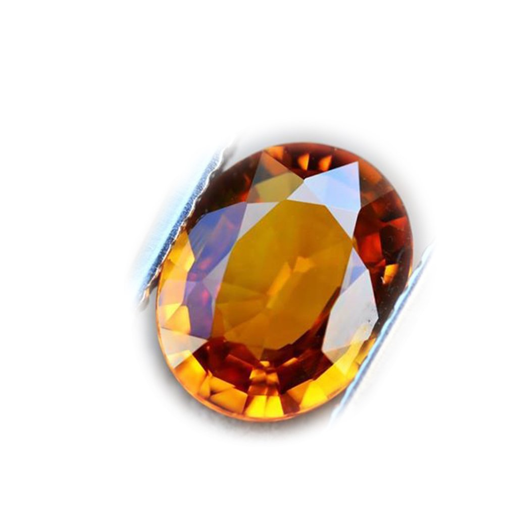 2.11ct Natural Oval Yellow Sapphire Thailand #B