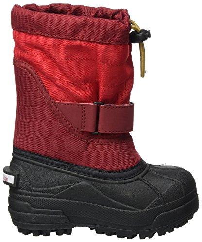 Columbia YOUTH POWDERBUG PLUS II - Botas De Nieve de material sintético infantil Rojo (Mountain Red/ Maple)
