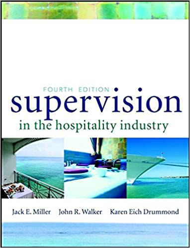 Supervision in the hospitality industry jack e miller john r supervision in the hospitality industry jack e miller john r walker karen e drummond 8580000156089 amazon books fandeluxe Gallery