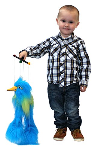 The Puppet Company Marionette Baby Birds, Blue