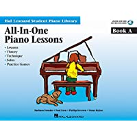 All-in-One Piano Lessons Book A: Book with Audio and MIDI Access Included (Hal Leonard Student Piano Library (Songbooks))
