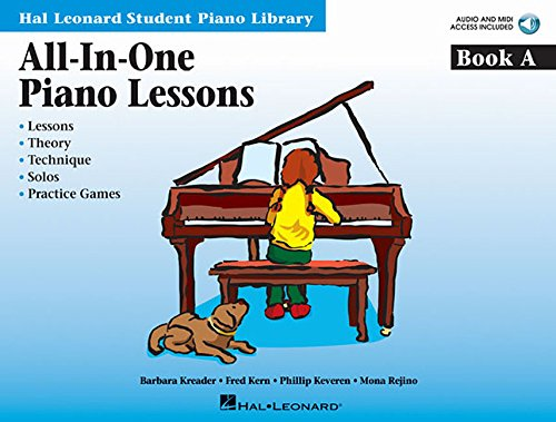 Student Audio - All-in-One Piano Lessons Book A: Book with Audio and MIDI Access Included (Hal Leonard Student Piano Library (Songbooks))