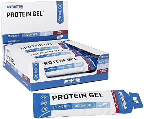 MyProtein Gel de Proteína, Sabor Frambuesa - 12 Unidades ...