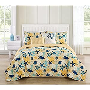 51UkdBqso-L._SS300_ Coastal Bedding Sets & Beach Bedding Sets
