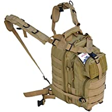 Every Day Carry Tactical Assault Bag EDC Day Pack Backpack with Molle Webbing