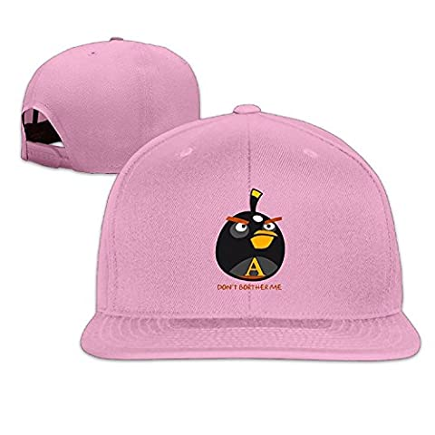 Custom Unisex Don't Bother Me Flat Brim Baseball Hats Pink (Peppa Pig George Boots)