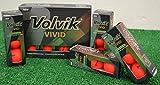 3 Dozen Volvik Vivid Matte Red Golf Balls - New in Box