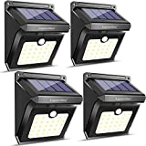 28 LEDs Solar Lights Outdoor, Motion Sensor Wireless Waterproof Security Wall Lights, Solar Light for Outdoor, Front Door, Back Yard, Garage, Porch by Luposwiten (4 Pack) Review