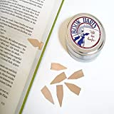 Book Darts 500 Line Markers - (500 Bronze-4 tins 125) - Best Gift All Types Readers! Students, Teachers, Cooks, Lawyers, Ministers, Librarians, Book Lovers, Researchers, Women, Men & Teens!