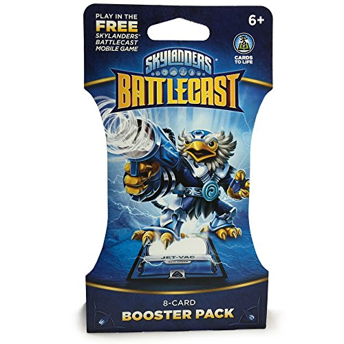 Skylanders Battlecast 8 Card Booster Pack - Cards to Life Assorted Variety