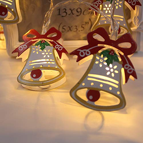 Christmas Bell Lights Outdoor in US - 7