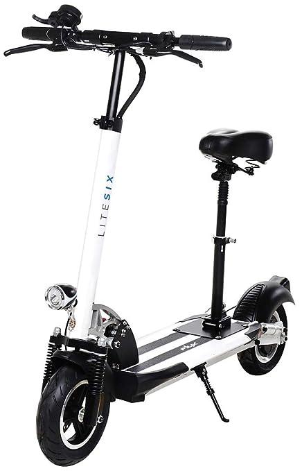 E-FLUX Lite 6 Scooter eléctrico 500W, plegable de aluminio ...