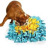 BenchMart Dog Snuffle Mat, Hand Woven Dog Sniffing Pad - Slow Feeding Dog