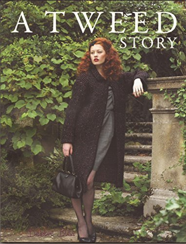 Debbie Bliss Knitting Pattern Book A Tweed Story
