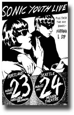 Buy sonic youth poster goo