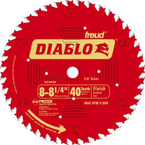 FREUD D0840X ATB Finishing Saw Blade