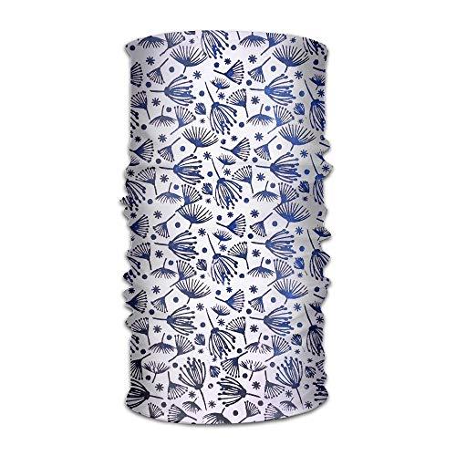 Fashion New Headwear Headband Dandelion Clipart Head Scarf Wrap Sweatband Sport Headscarves For Men Women