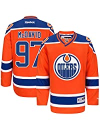 NHL Edmonton Oilers 97 Connor McDavid Men's Premier Jersey