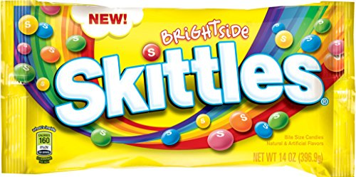 Skittles Brightside Candy, 14 Ounce (Pack of 12)