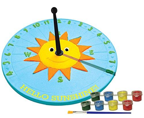 Sassafras My Little Garden: Paint Your Own Garden Sundial Paint Kit