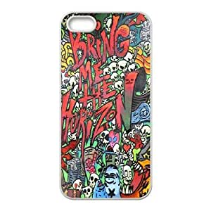 Custom BMTH Iphone 5,5S Phone Case, BMTH DIY Cell Phone Case for iPhone 5,iPhone 5s at Lzzcase WANGJING JINDA