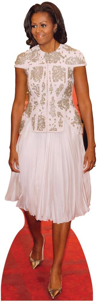 First Lady Michelle Obama Dress Lifesize Standup Cardboard Cutouts 75 x 24in