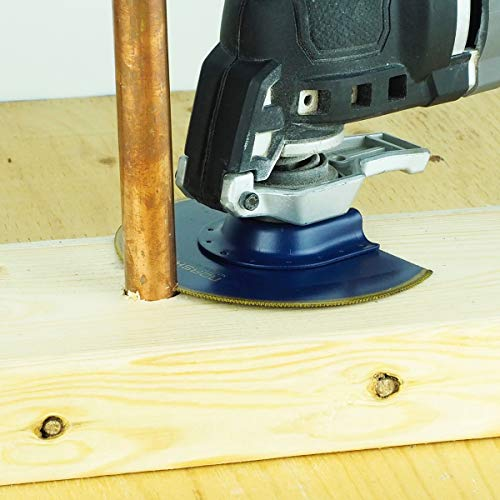 Norske Tools NOTP236 3-in-1 Cutting Scrapper /& Rasping Oscillating Multi Tool Accessory C1217