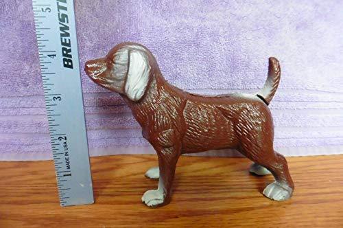 Cast Iron Brown Chocolate Labrador Lab ? Dog Canine Coin Piggy Bank door stop