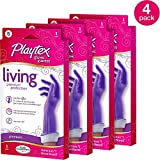 Playtex Living Gloves Small 4 Pairs
