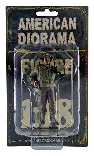 (American Diorama WWII Military Police Figure II for 1:18 Scale Models 77415)