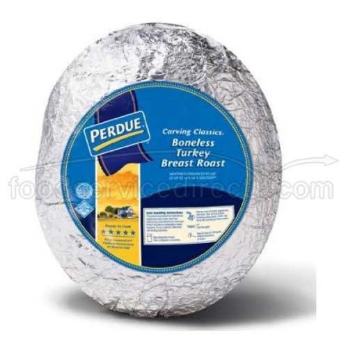 Perdue Farms Skin On Ready to Cook Turkey Breast Foil, 9.5 Pound -- 2 per case.