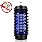 Powstro Electric Mosquito Killer Lamp Insect Pest Bug Zapper Repeller Purple Insect Killer Night Light 110-220V US Plug