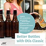 Otis Classic Swing Top Glass Bottles with Lids