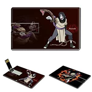Naruto Orochimaru Anime Comic Games ACG Customized USB Flash Drive 16GB