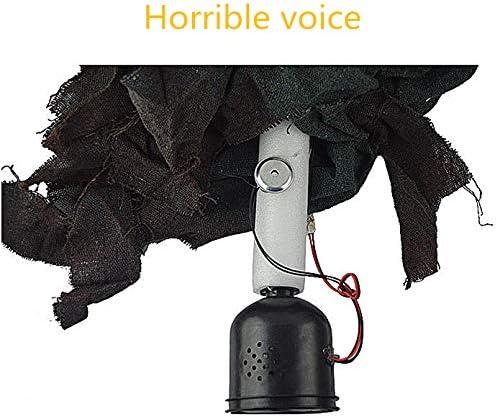 Morbuy Halloween Voz Decoracion, Tenebrosos Colgantes Zombie ...