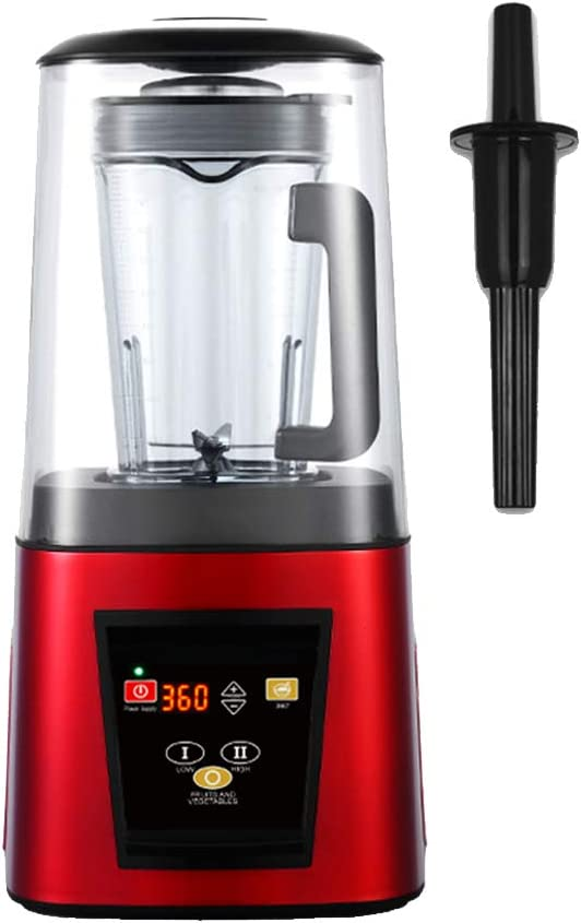 42000 RPM Heavy Duty Countertop Blender, Smoothie Blender/Mixer with Low Noise, Built-in Timer and Pre-programmed Cycle for Crushing Ice,220V EU Plug