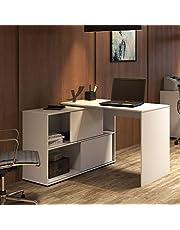 ارتنى طاولة مكتب بـ ارفف واسعة - 003227