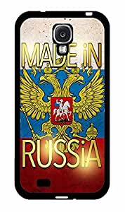 Made in Russia TPU RUBBER SILICONE Phone Case Back Cover Samsung Galaxy S4 I9500