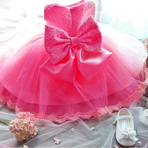 Nnjxd Girls Tulle Flower Princess Wedding Dress For