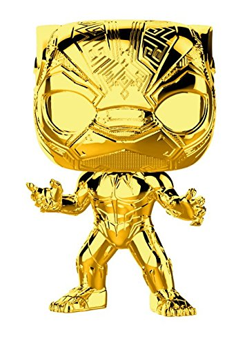 Funko Pop! Marvel: Studio's 10th Anniversary - Black Panther (Chrome)