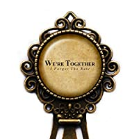 "Walt Witman ""We're together. I forget the rest."" Bronze Bookmark"