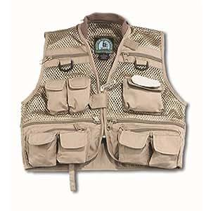 Master sportsman youth mesh fishing vest for Fishing vest amazon