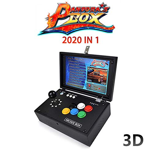Blueyouth Arcade Game Console - Pandora's Box 3D Arcade Game Console Jamma HDMI Retro Console 10'' Screen 2177 in 1 by Blueyouth (Image #7)