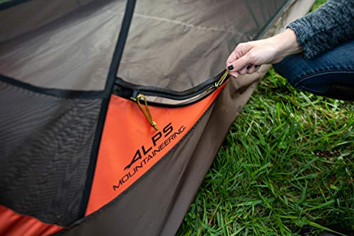 ALPS Mountaineering Chaos 3 Tent, Brown/Orange