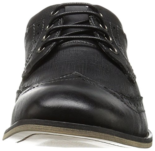 Steve Madden Black Joywav Leather Mens Oxford AxHZwArqp