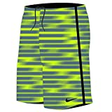 Nike Boy's Blurred 9'' Swim Trunks L Volt