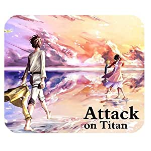 Attack On Titan Custom Rectangle Rubber Mouse Pad Anime Gaming Mousepad in 220mm*180mm*3mm