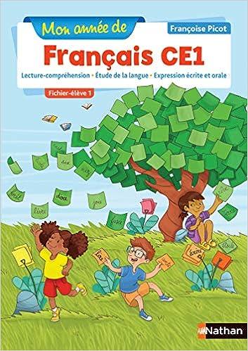 Amazon Fr Mon Annee De Francais Ce1 Fichier Eleve 1