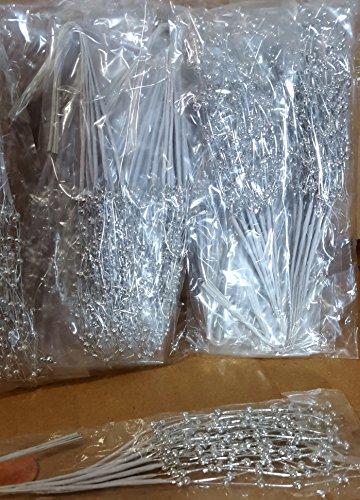 Pearl Sprays Silver Metallic 3mm ,Pack of 144 picks.