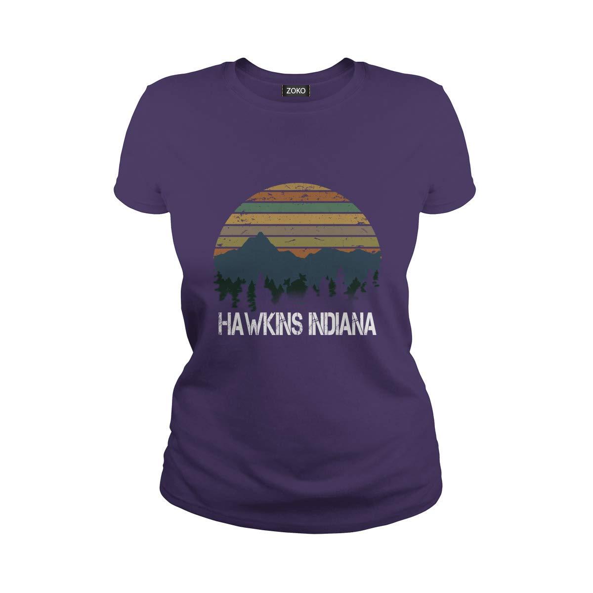Zoko Apparel Hawkins Indiana Tshirt